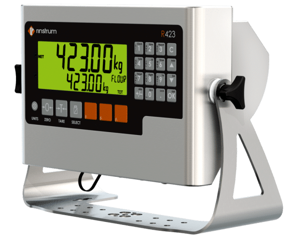 Rinstrum R423 Indicator with Stainless Steel Bracket