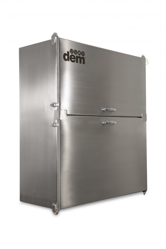 protective stainless steel cabinet