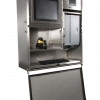 protective stainless steel enclosure for industrial equipment