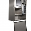 wall mounted stainless steel cabinet
