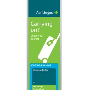 baggage sizer aer lingus